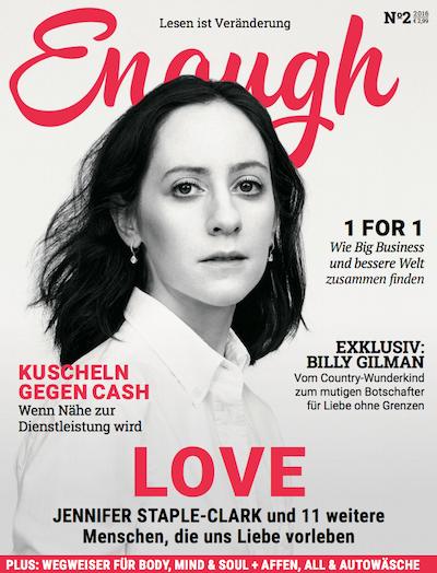 Lesen Sie jetzt Enough 1/2016: Love